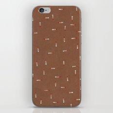 Canvas Dot Line Design iPhone & iPod Skin
