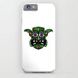 Tribal Demon Mask iPhone Case