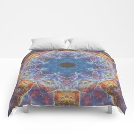 Space Mandala no2 Comforters