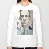 lovecraft Long Sleeve T-shirts featuring LOVECRAFT by Germania Marquez