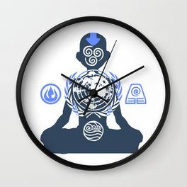 United Nations of the Earth Kingdom Wall Clock