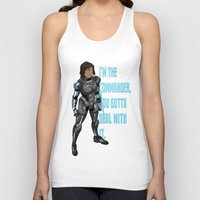 the legend of korra Tank Tops featuring Commander Korra by comickergirl