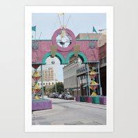 cities Art Prints featuring Cities by sannngat