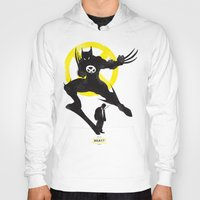 xmen Hoodies featuring Xmen - Logan Alter Ego  by Bklounge
