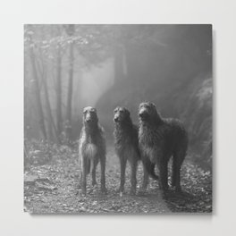 Three Scots Metal Print