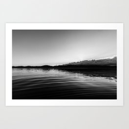 Dark Sunset Art Print