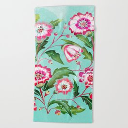 Flori Beach Towel