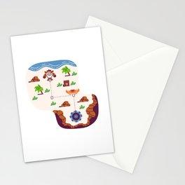 Overworld: Beach Stationery Cards