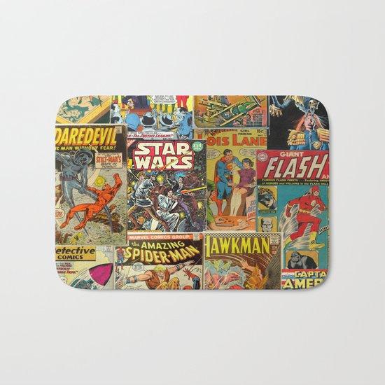 Comics Bath Mat