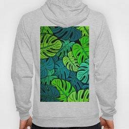 Tropical Leaves Hoody