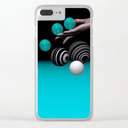 rolling down -2- Clear iPhone Case