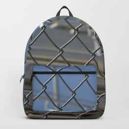 Bleachers Behind Fence Backpack