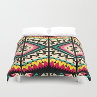 tribal Duvet Covers featuring Tribal by Ornaart