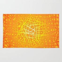 Heat Background Rug
