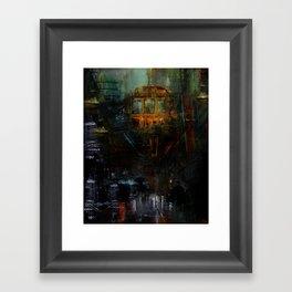 Terminus Framed Art Print