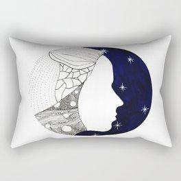 Girl in the Universe Rectangular Pillow