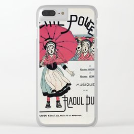 The Little Thumbelina 1891 Clear iPhone Case