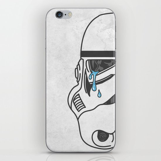 Tears of the Trooper iPhone & iPod Skin