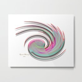 The whirl of life, W1.4A Metal Print