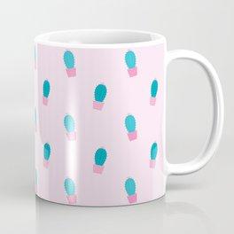 Succulents Cacti Plant Pattern Coffee Mug