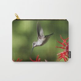 Hummingbird Beauty Carry-All Pouch