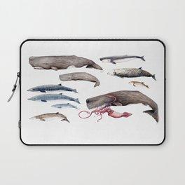 Deep sea whales Laptop Sleeve