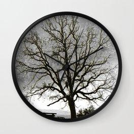 L'arbre de Gourdon Wall Clock