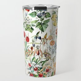 Adolphe Millot - Fleurs D - French vintage poster Travel Mug