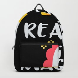Unicorn - Reading Is Magical Backpack