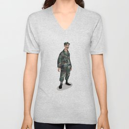 I'm going to Army Unisex V-Neck