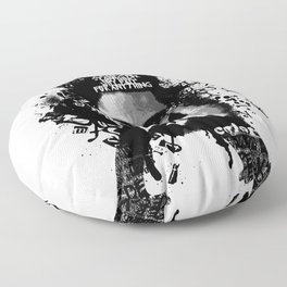 Malcolm X Stand Tall Floor Pillow
