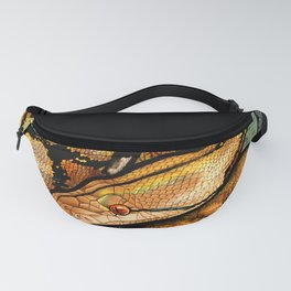 Reticulated Python Fanny Pack