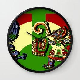 Aztec Rite II Wall Clock