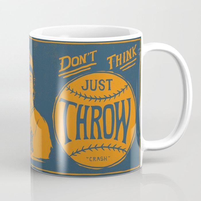 Don T Think Navy Coffee Mug