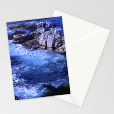 landscape with ocean Stationery Cards
