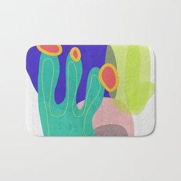 Spring Vibes #buyart #abstractArt Bath Mat