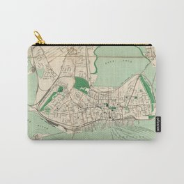 Vintage Map of Portland ME (1906) Carry-All Pouch
