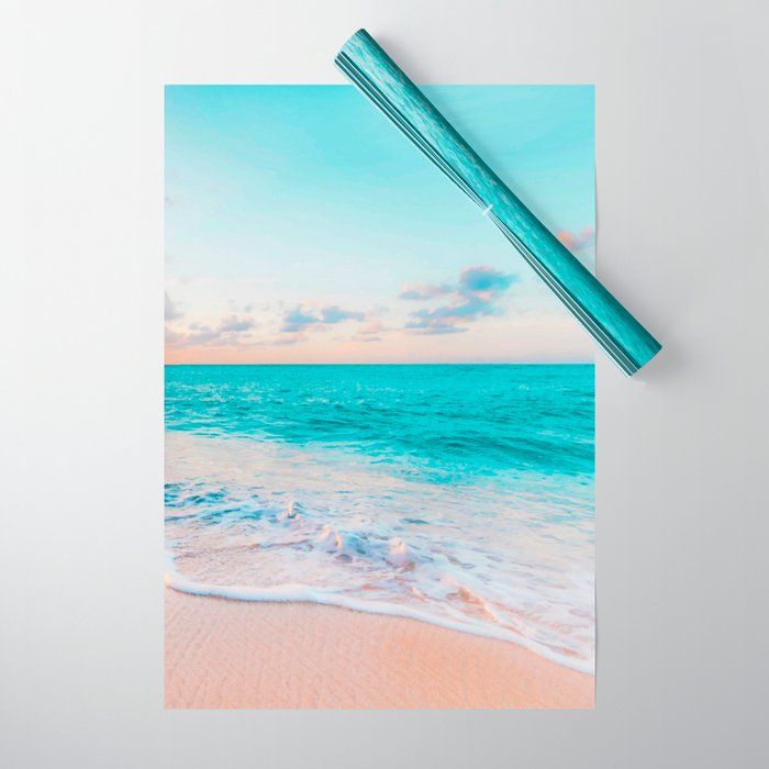 Ocean Bliss #society6 #society6artprint #buyart Wrapping Paper