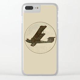 Aeroplane Clear iPhone Case