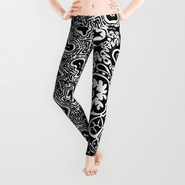 Dependent Existence / The Sun and The Moon Leggings