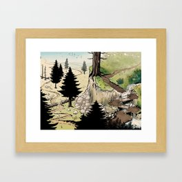 Just a Little Walk in the Woods - BASHers Framed Art Print
