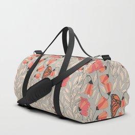 Monarch garden 001 Duffle Bag