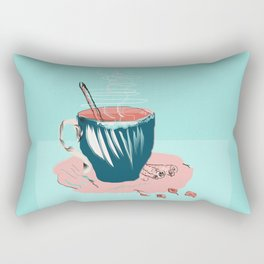 coffee with love Rectangular Pillow
