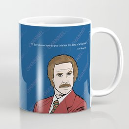 Ron Burgundy Anchorman  Coffee Mug
