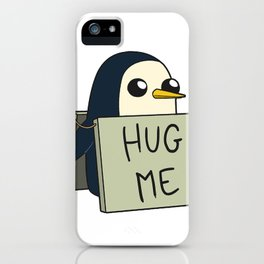 Penguin - Hug Me ! iPhone Case