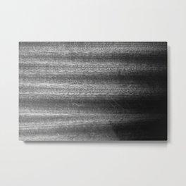 Scratched Tones Metal Print