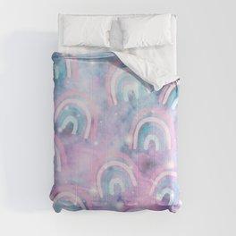 Cosmic Rainbow Dream Pattern #1 (Kids Collection) #decor #art #society6 Comforters