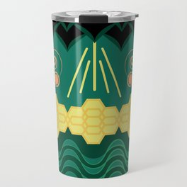 Rainforest HARMONY pattern Travel Mug