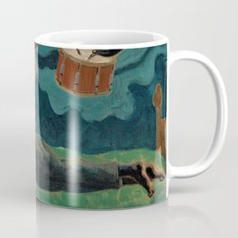 African American Masterpiece 'Dreamer' by Palmer Hayden Coffee Mug