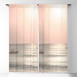"""Fisherman's Sunrise"" by Murray Bolesta Blackout Curtain"